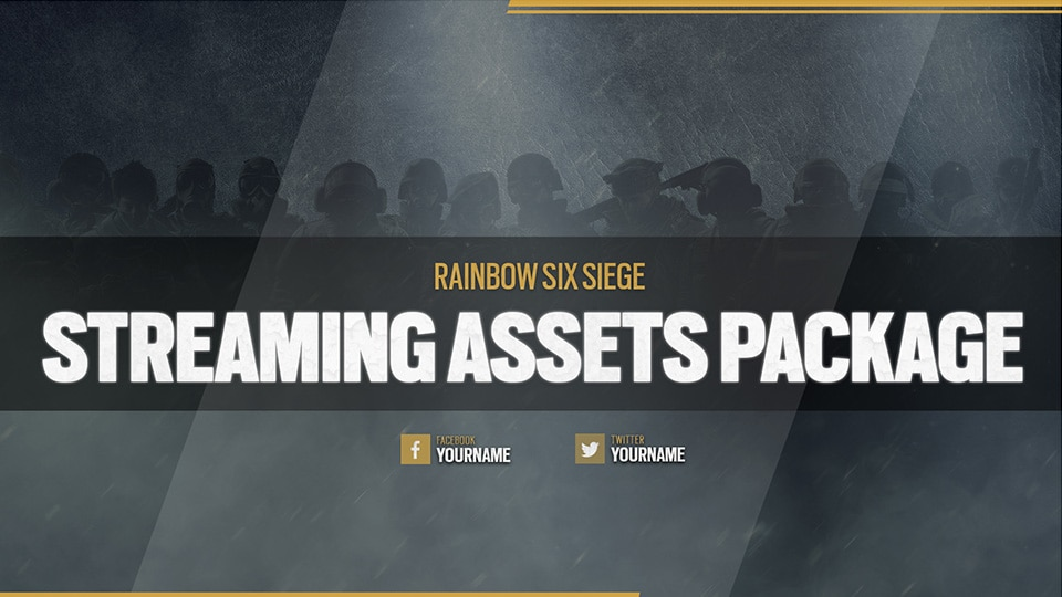 Rainbow Six Streaming asset pack available now! | News