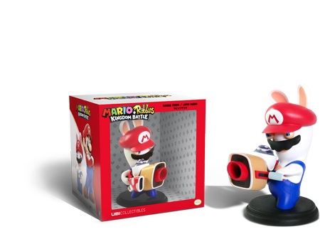 Mario+Rabbids: Kingdom Battle - Rabbid Mario Figurine With Box