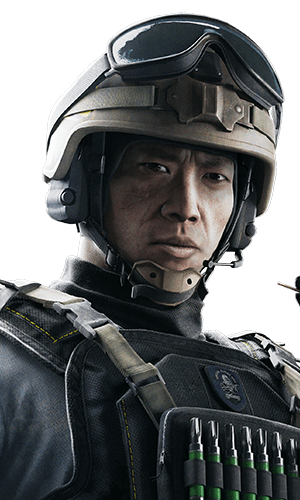 Lesion Portrait - Rainbow Six Siege