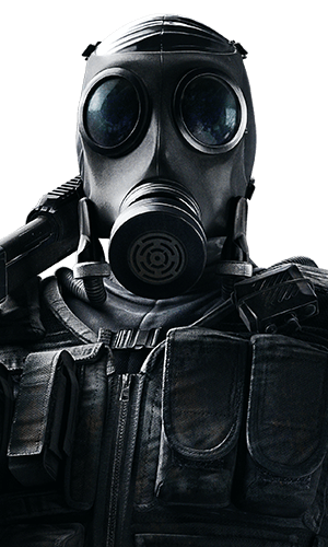 Smoke Portrait - Rainbow Six Siege