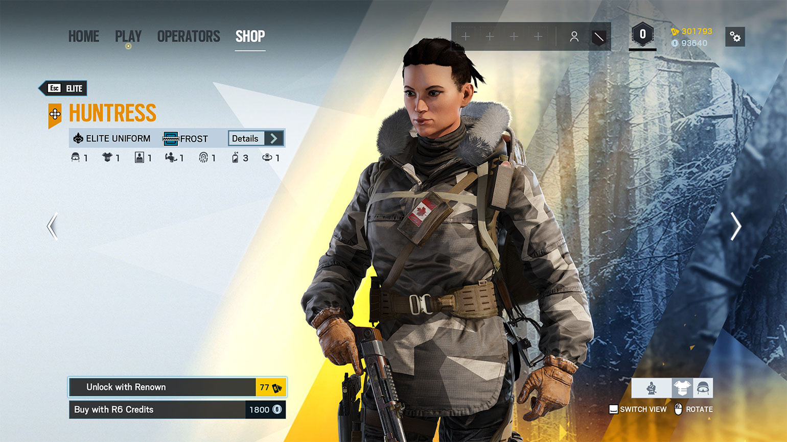 The Rainbow Six shop is getting a facelift