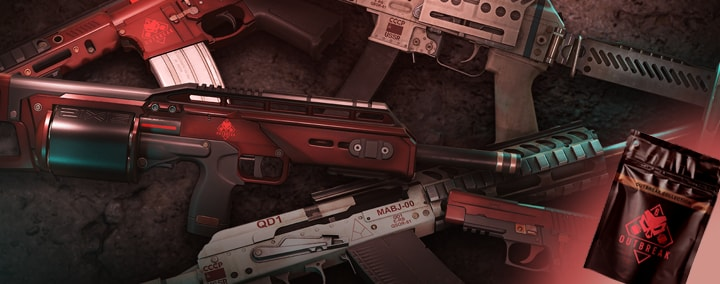 Outbreak Weapon Skins
