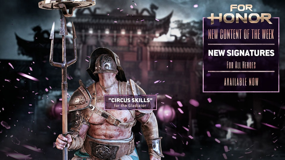 For Honor Content of the week jan 16