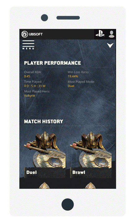 Player stats updated