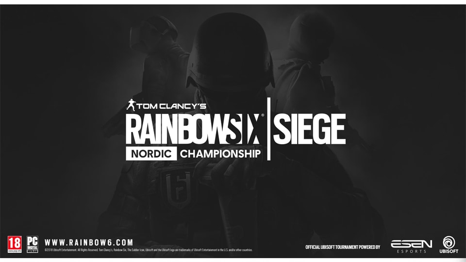 OFFICIAL RAINBOW SIX SIEGE CHAMPIONSHIP COMING TO THE NORDIC