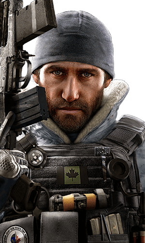 Buck Portrait - Rainbow Six Siege