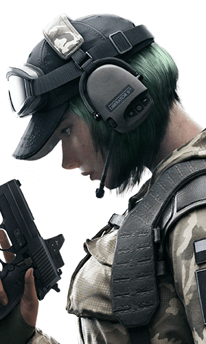 Ela Portrait - Rainbow Six Siege