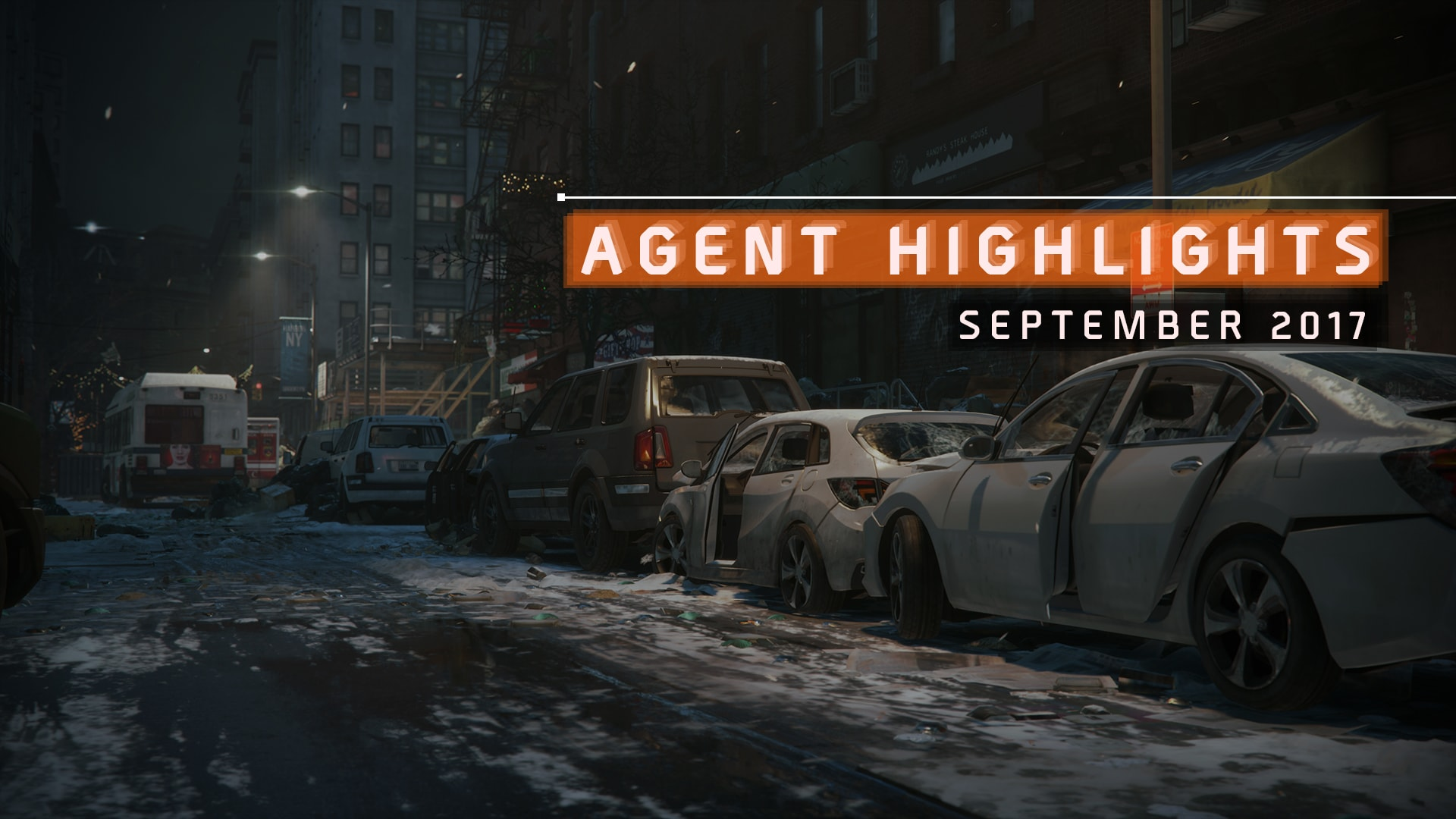 29-09-2017 [News] Agent_Highlights_September_Header