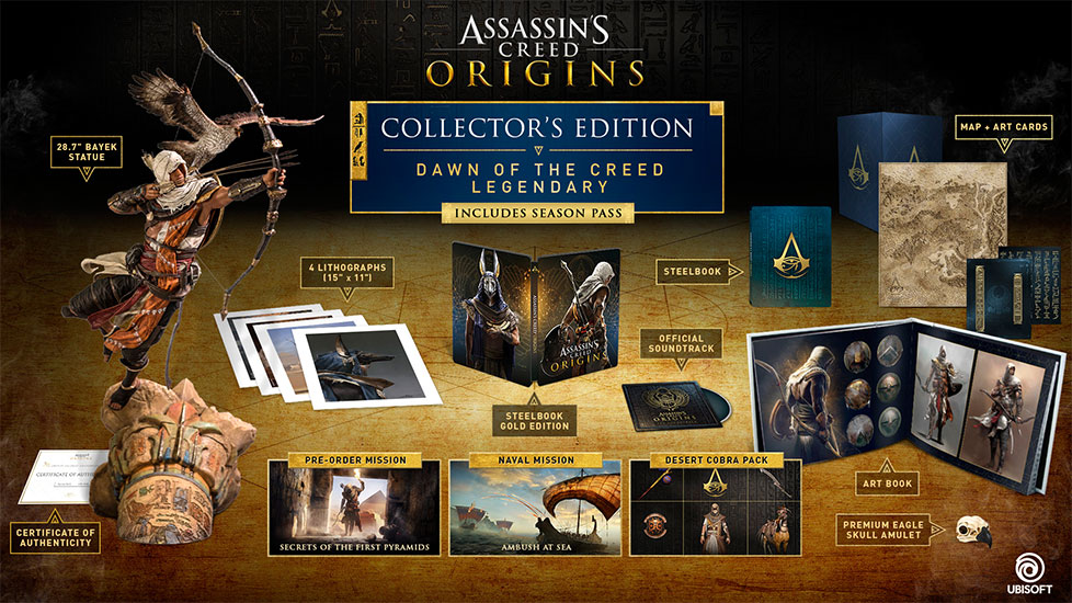Buy Assassin's Creed Origins on Xbox One, PS4, PC ...