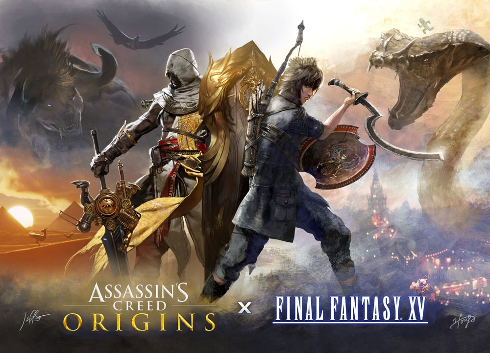 Assassin's Creed Origins/Final Fantasy XV Collaboration