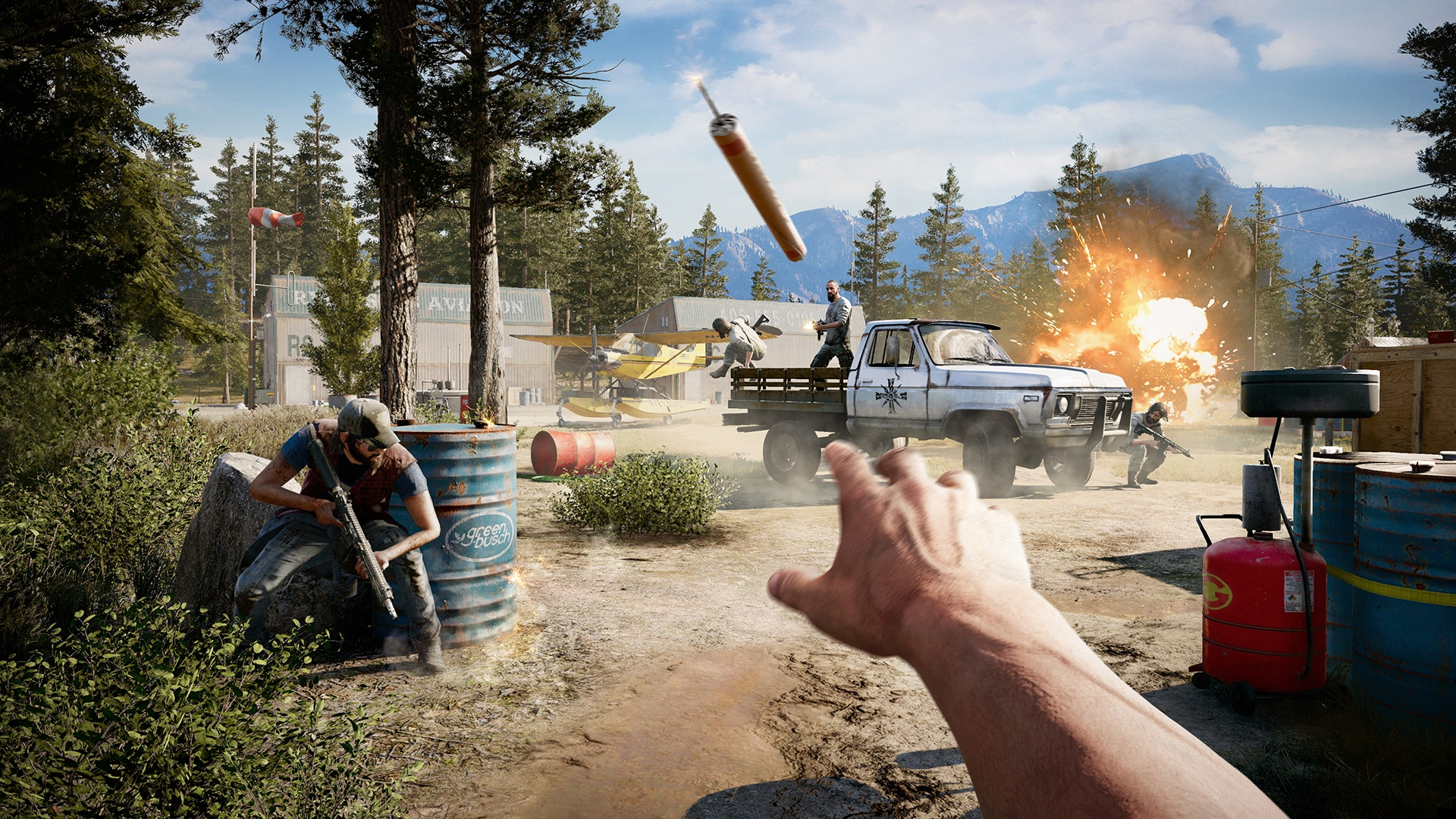 'Far Cry 5' map editor allows gamers to use 'Assassin's Creed' objects