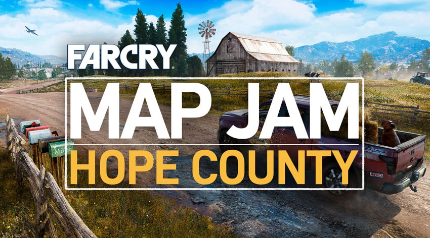 Far Cry 5 Full Map: Far Cry 5 News And Updates