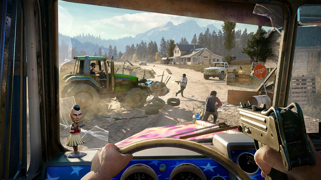 Far Cry Arcade Is Far Cry 5's Map Editor, Looks Bananas