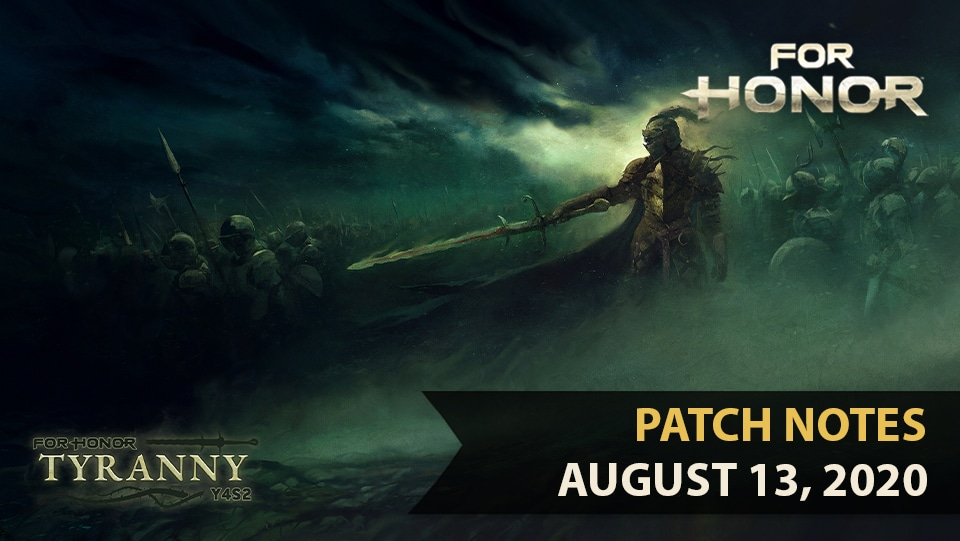 for-honor-patch-notes-august-13