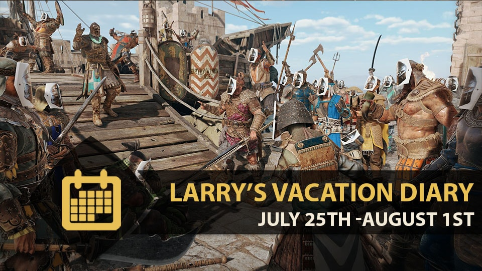 New Executions And Larry's Vacation Diary
