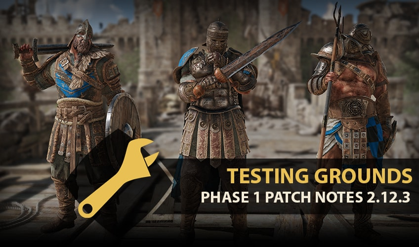 Testing Grounds Patch Notes