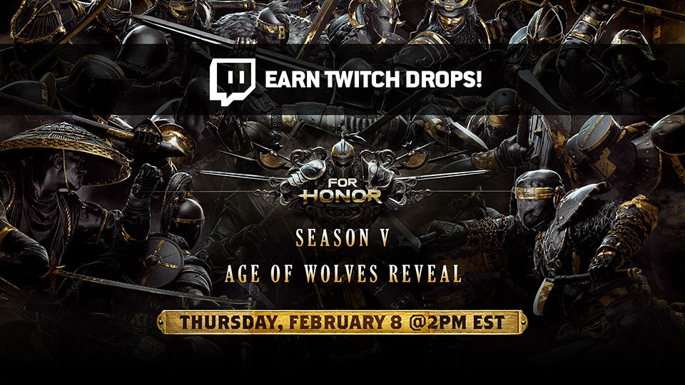 Earn In-Game Rewards While Watching the Age of Wolves Reveal Stream