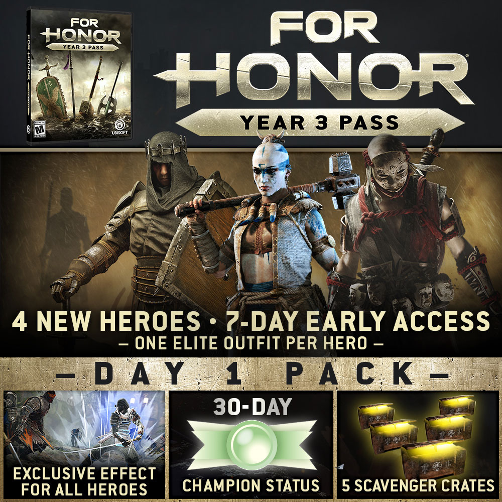 For Honor: Buy For Honor Now on PS4, Xbox One & PC | Ubisoft (US)