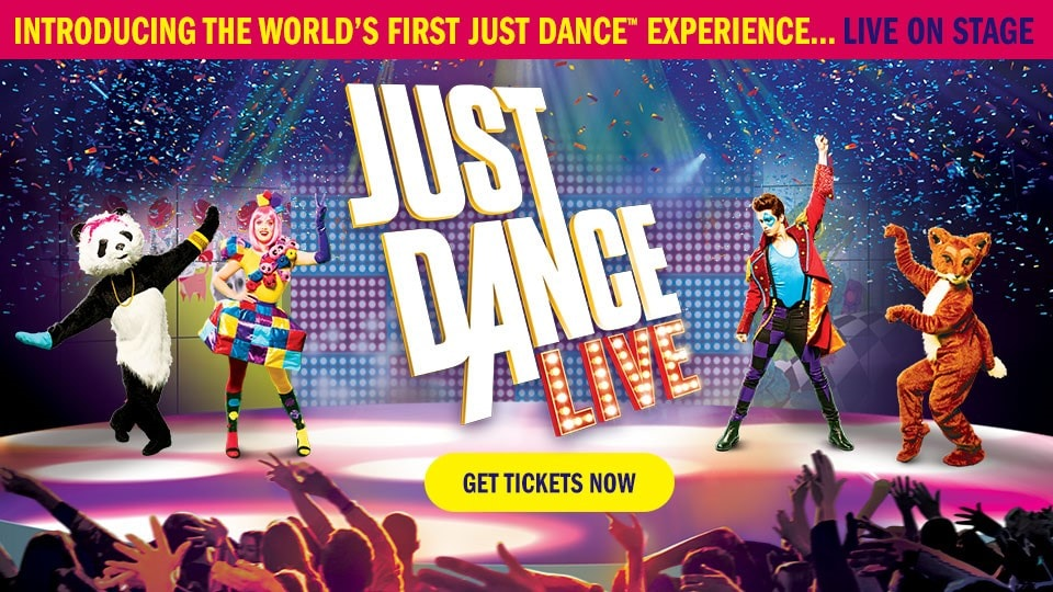 [2017-11-02] JUST DANCE LIVE TICKETS ARE ON SALE - THUMB