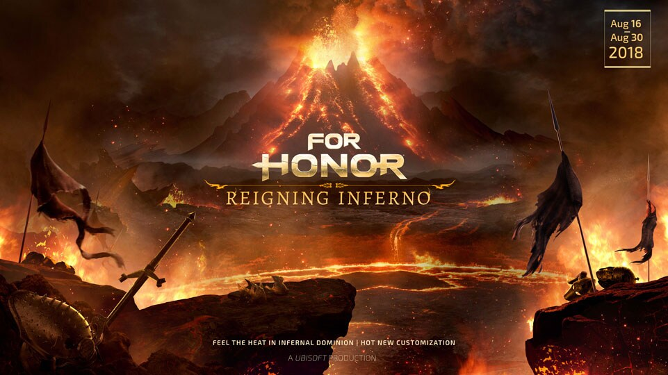 For Honor Season Vii Brings The Heat With New In Game Event Available Now Ubisoft Us
