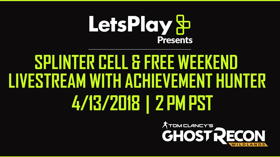 [2018-04-13] Let's Play Livestream/Free weekend
