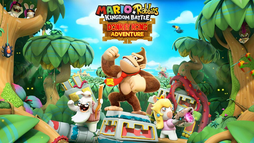 Image result for mario + rabbids kingdom battle donkey kong