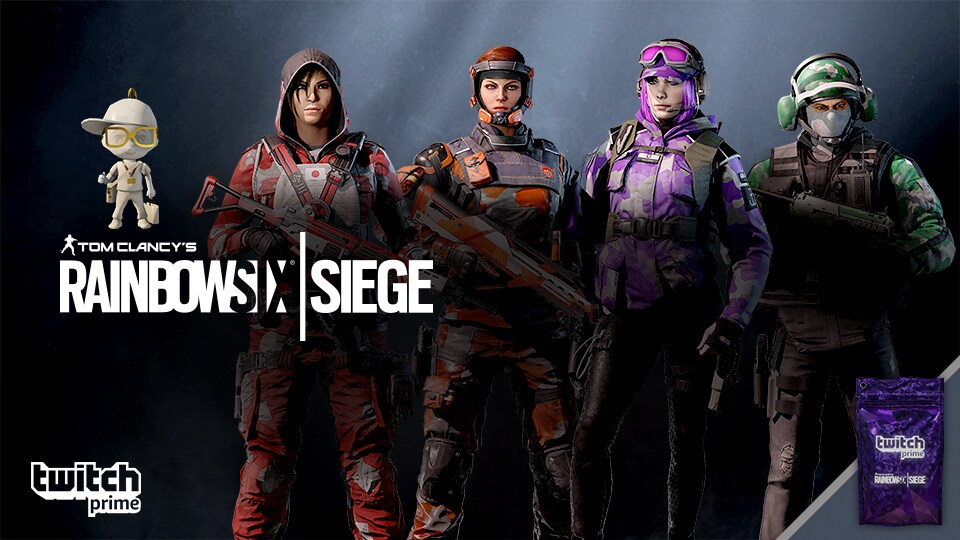 Secure Tom Clancy's Rainbow Six® Siege Rewards with Twitch Prime
