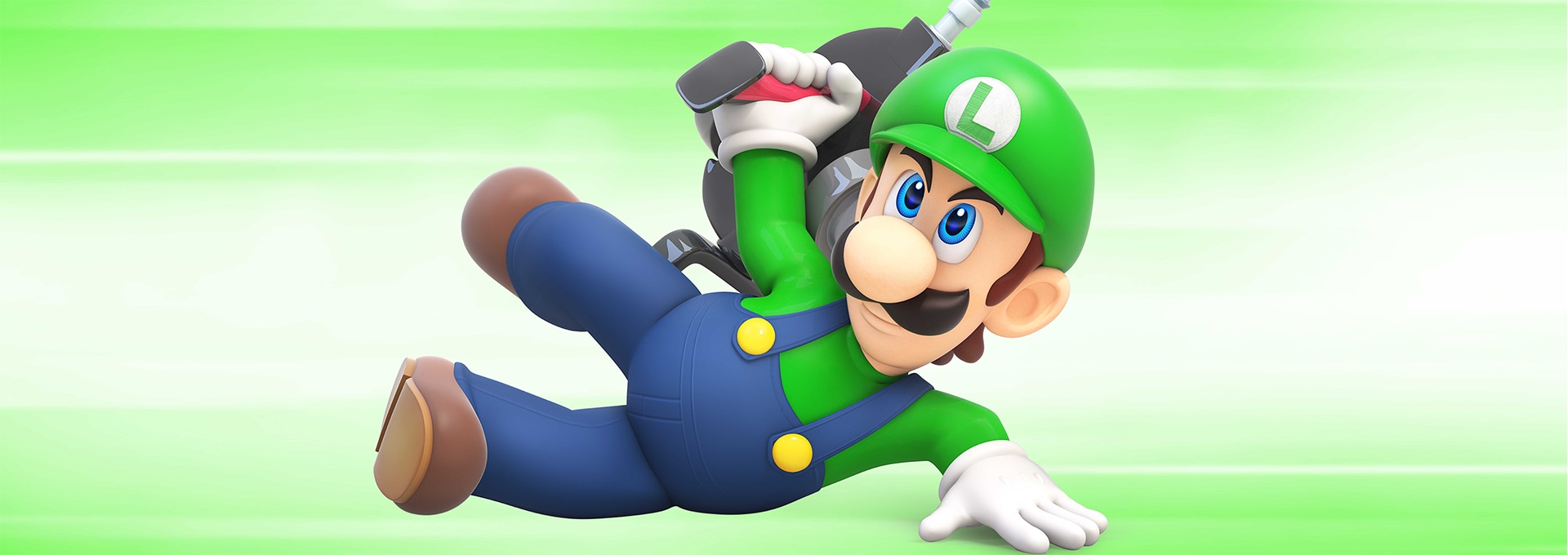 luigi bring clear sightedness and precision to your team mario