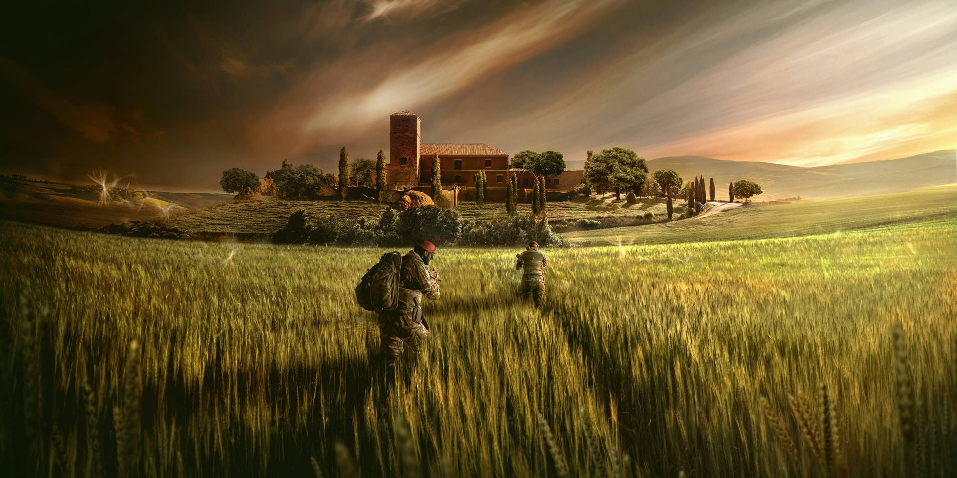 Operation Para Bellum Keyart - Rainbow Six Siege