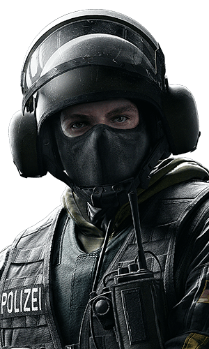 Bandit Portrait - Rainbow Six Siege