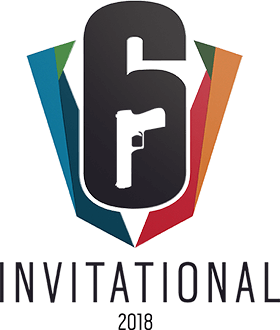 Six Invitational 2018 Logo - Rainbow Six Siege