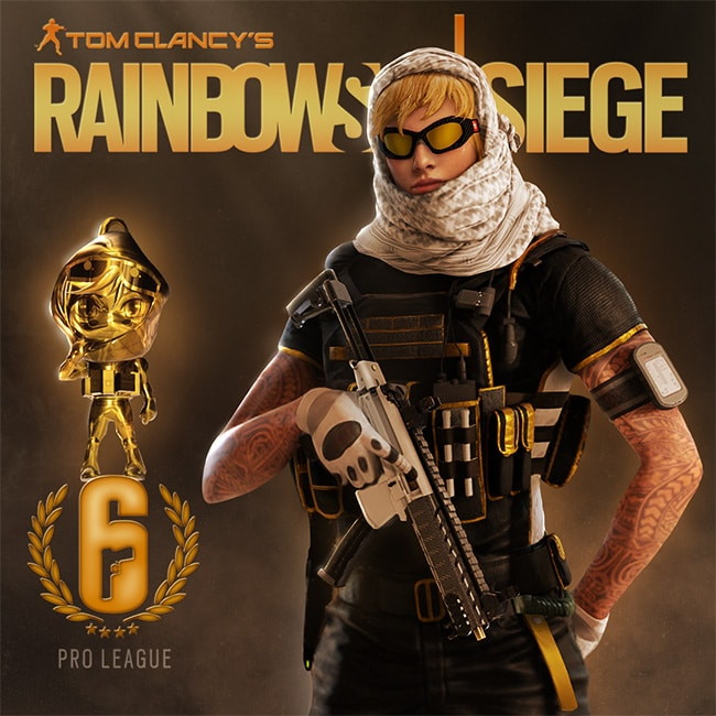 New Pro League Gold Sets are now available! | Rainbow Six