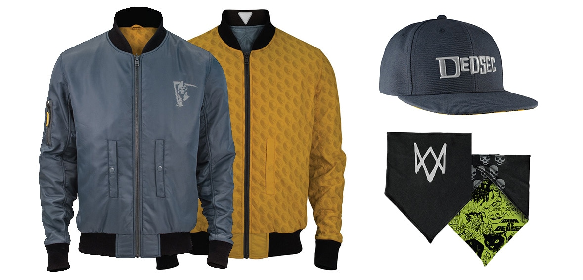 Ubiworkshop Rolls Out New Watch Dogs 2 Gear And Merchandise