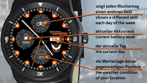 MyDivision.net Fan Smartwatch Android - The Division