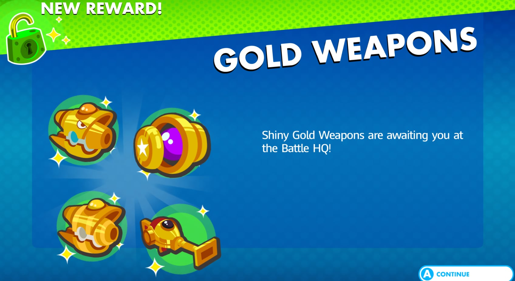 AG Golden Weapons