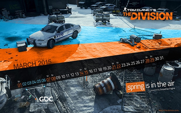 Desktop March Wallpaper by The Division Zone