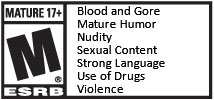 [South Park - TFBW] ESRB Mature Rating