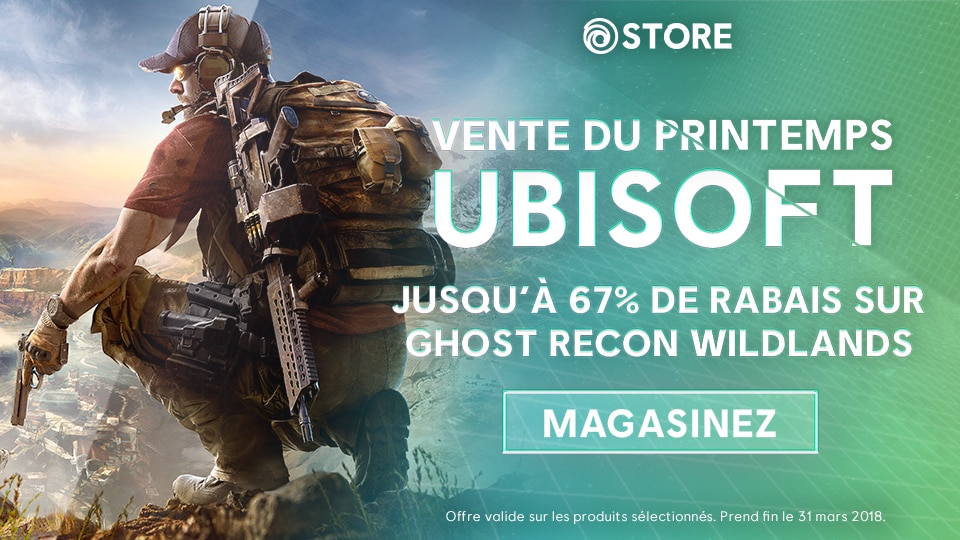 Ghost Recon Wildlands Spring Sale