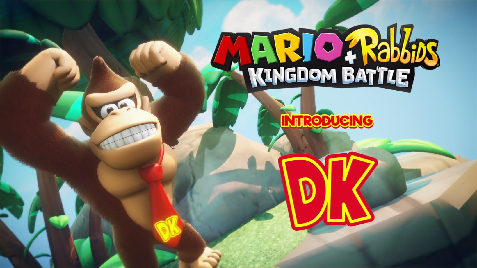 [2017-01-11] Mario + Rabbids Kingdom Battle DLC – Donkey Kong Swings into Action