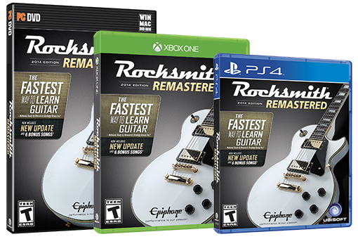 Rocksmith 2014 Remastered Edition boxshots
