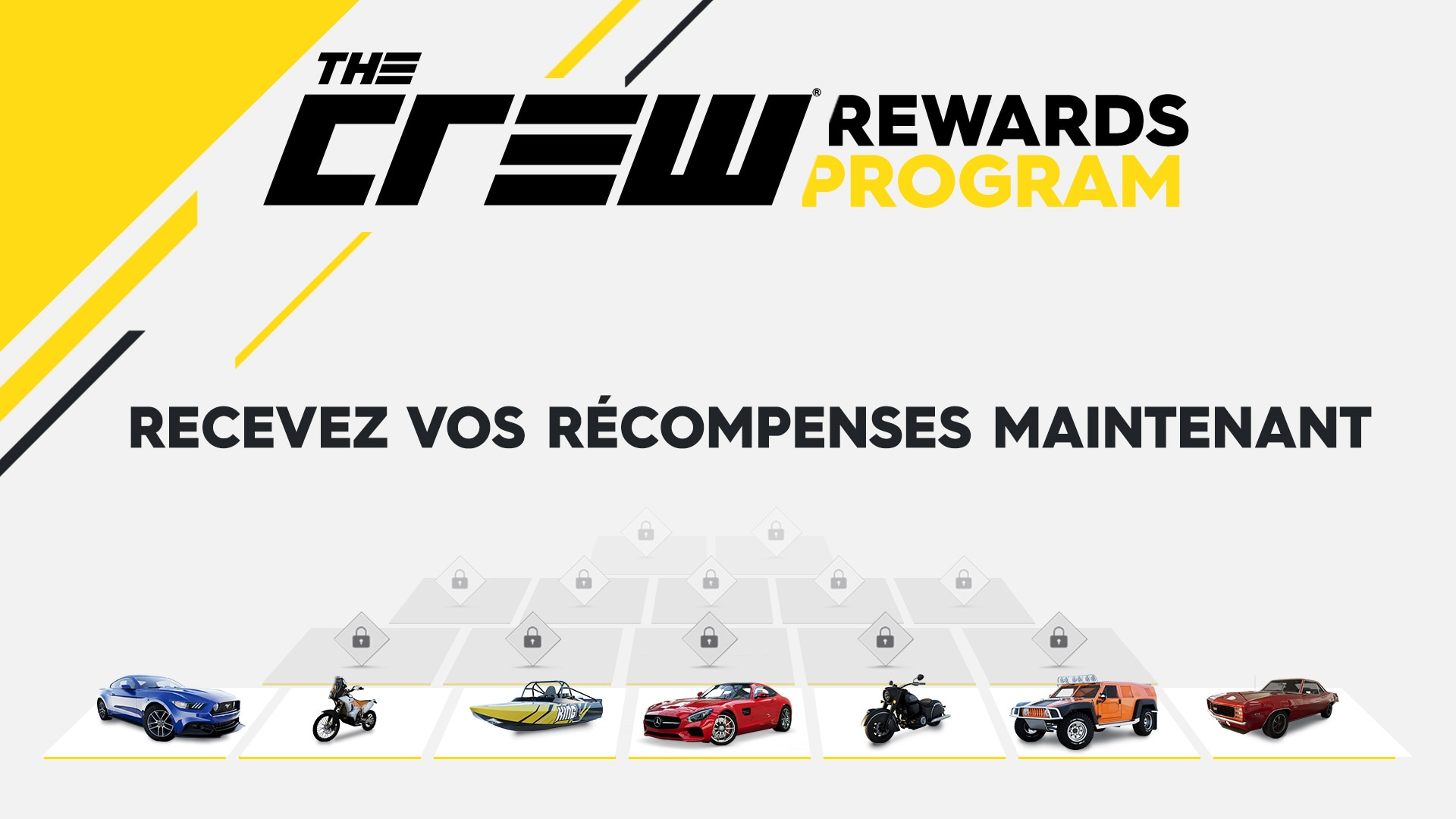 the crew 2 programme de r compenses ubisoft canada. Black Bedroom Furniture Sets. Home Design Ideas