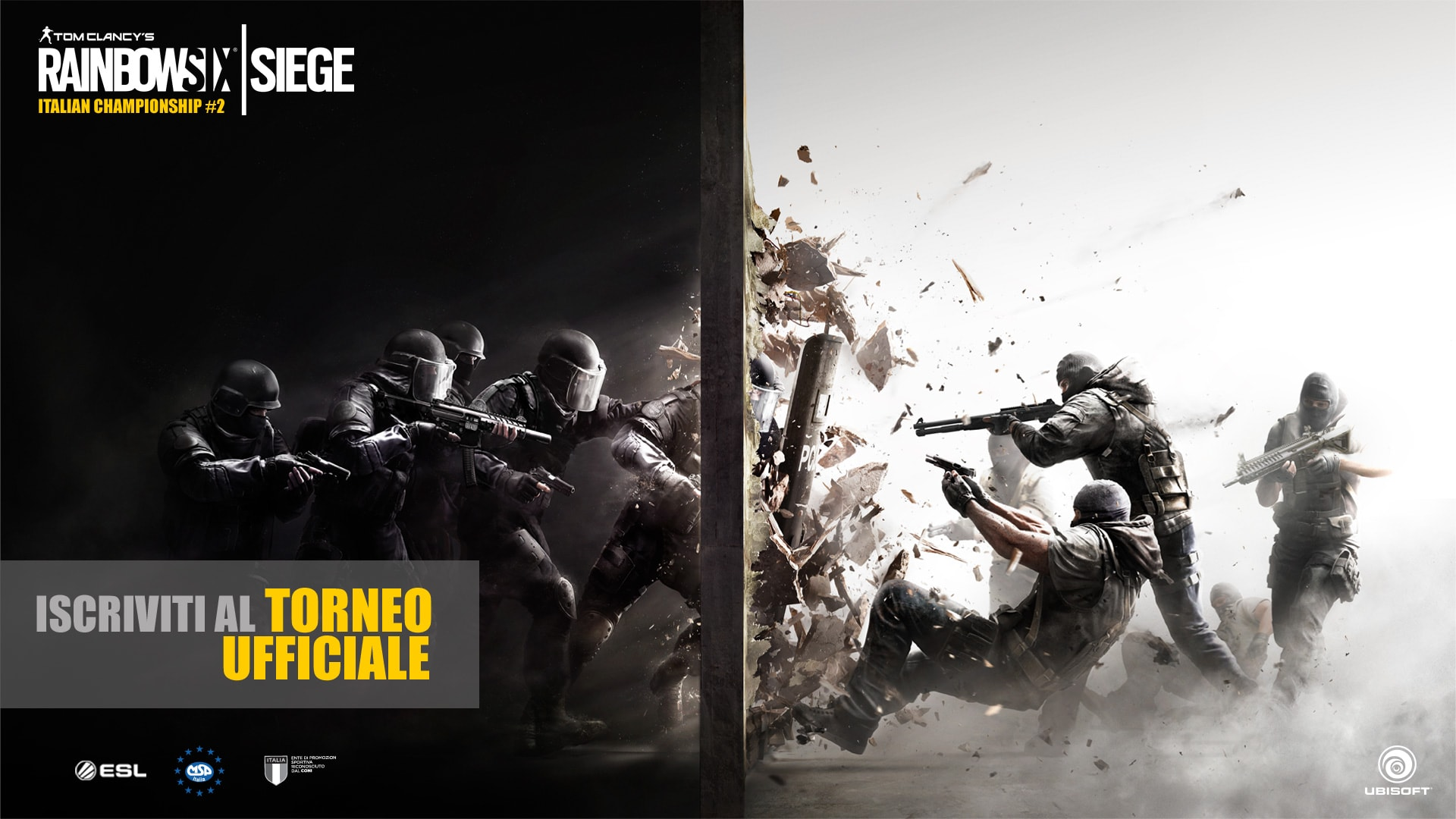 Rainbow Six Siege Italian Championship #2 Final - HEADER