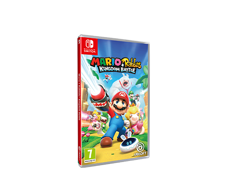 Mario+Rabbids: Kingdom Battle - Packshot
