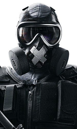 Mute Portrait - Rainbow Six Siege