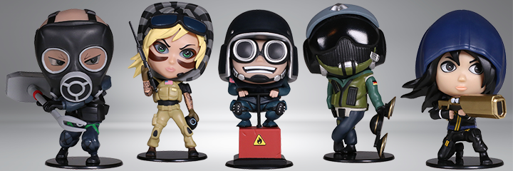 Rainbow Six Siege Chibi Figurines Collectibles Series 2