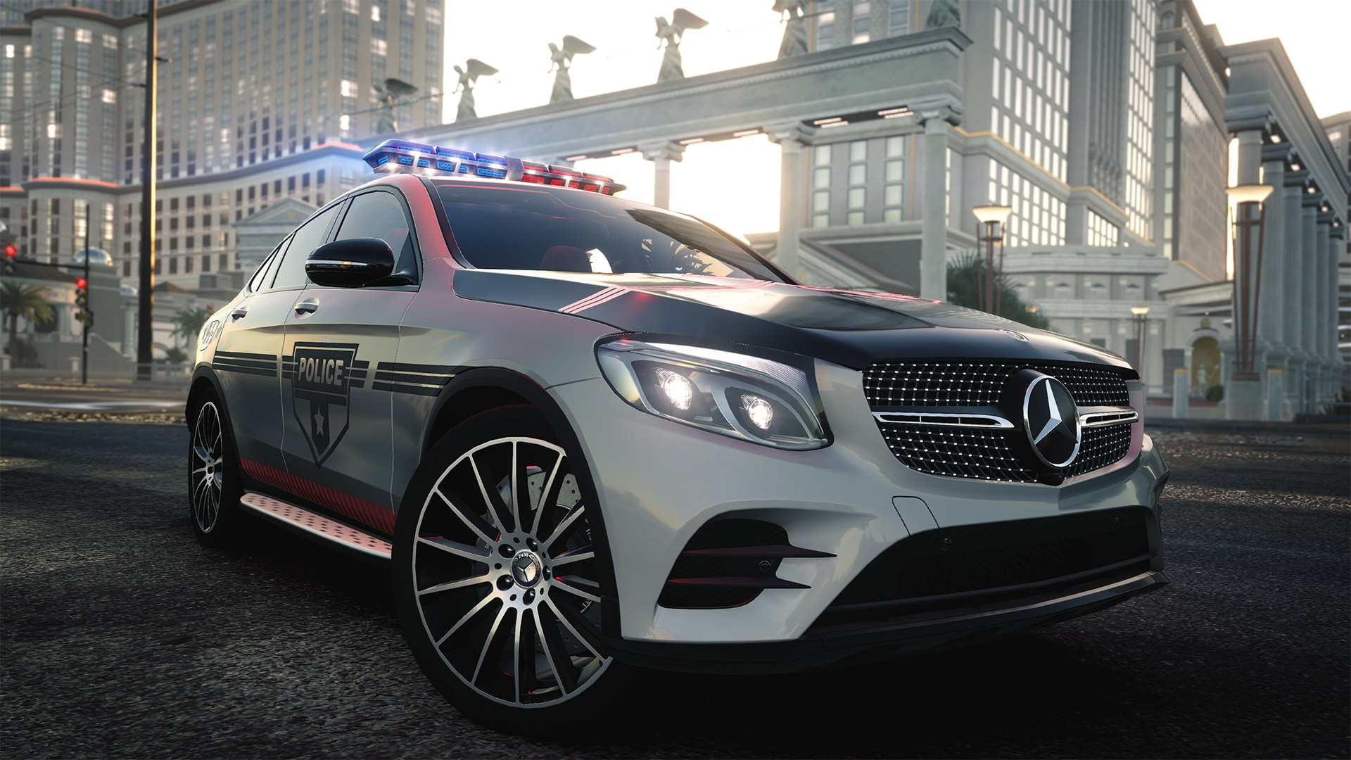 MERCEDES-BENZ-GLC-Coupe-Police