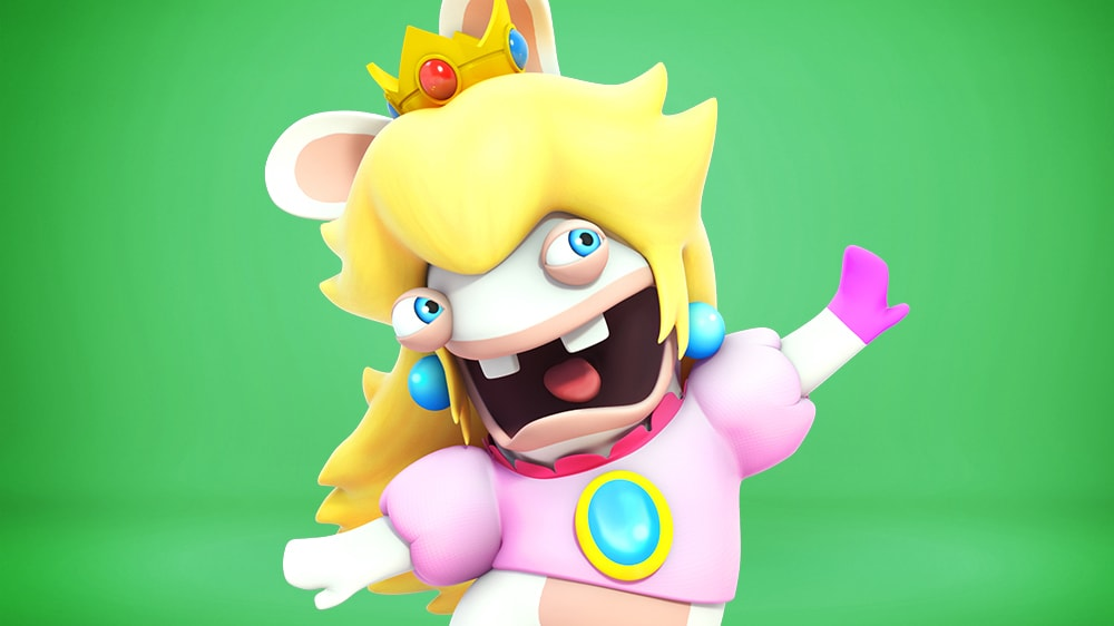 Rabbid Peach