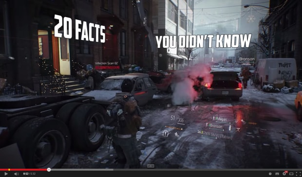 MarcoStyle - Things You Didn't Know - Fan Video - The Division