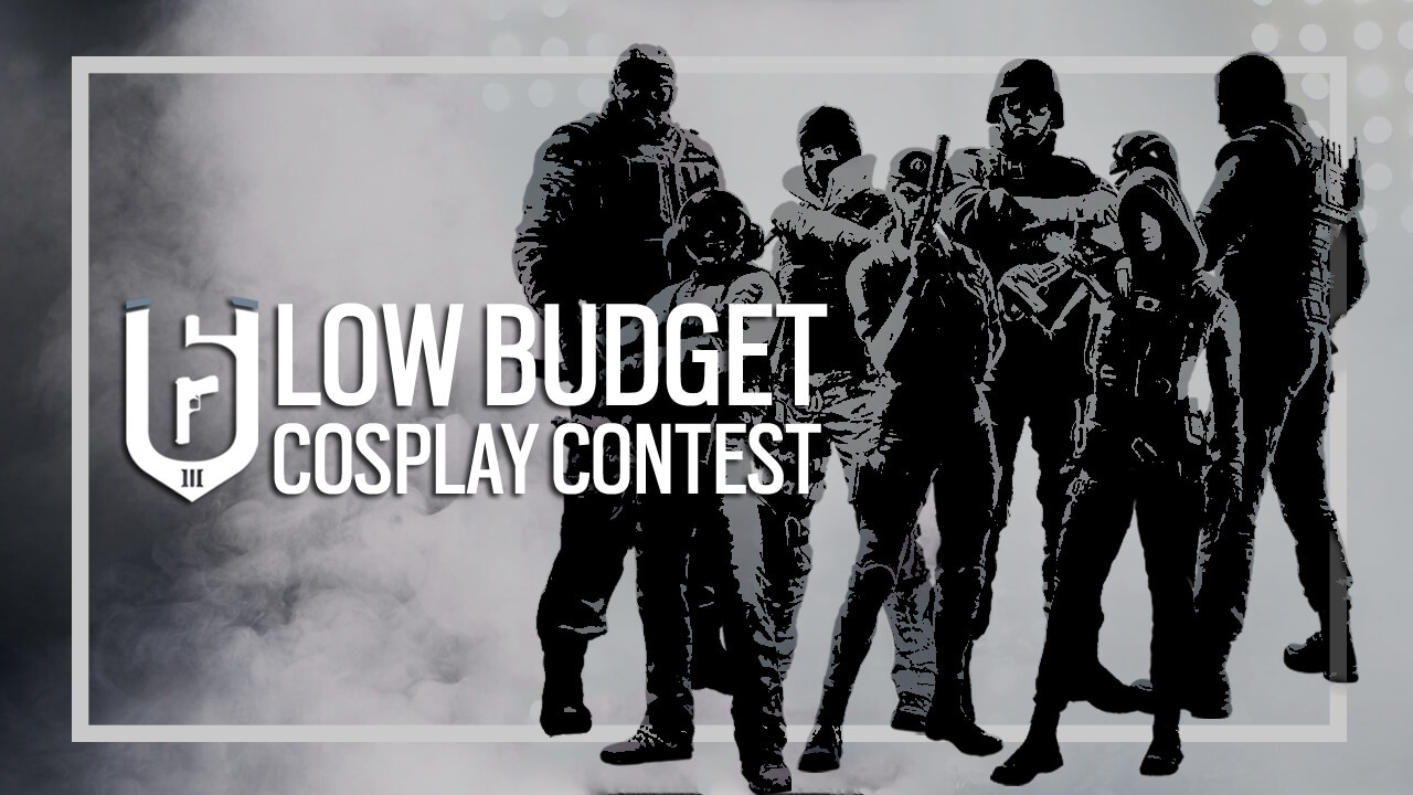 [2018-10-05] R6S Low-budget Cosplay Contest Header
