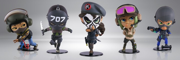 Rainbow Six Siege Chibi Figurines Collectibles Series 3